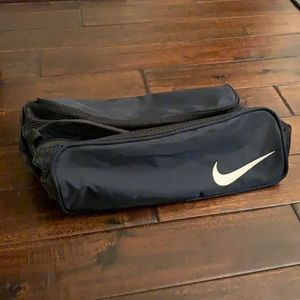 🎉HP🎉 Nike Golf Navy Nylon Shoe Bag EUC